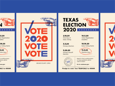 2020 Voting Flyers