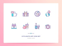 Citylights App Icons Set 3