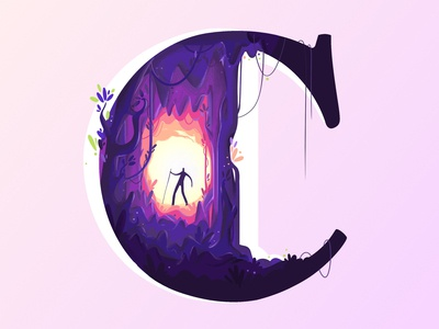 C for Cave