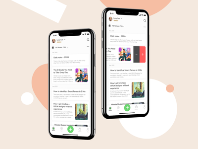 I redesign the evernote ui ios evernote redesign concept redesign