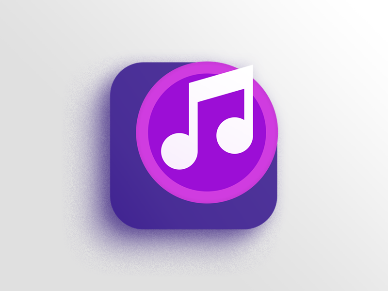 Music Icon by Jamshaid Saleem on Dribbble