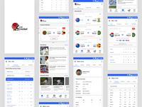 Cricket App UI