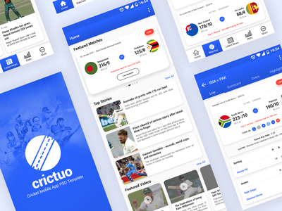 Crictuo – Cricket Mobile App