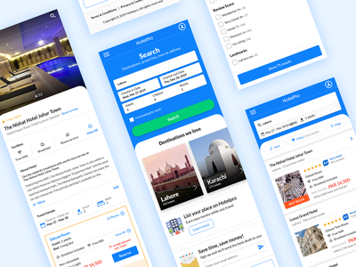 Hotelpro web responsive design interface vacation inspirational guests icon mobiledesign booking ux ui design ui web design hotel design