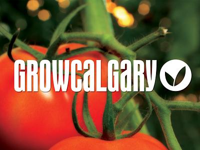Grow Calgary Branding growcalgary yyc calgary grow calgary