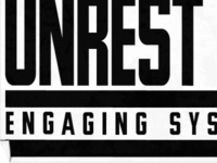 Unrest Magazine Sticker
