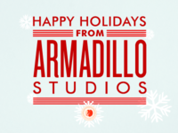 2012 Armadillo Studios Holiday Cards