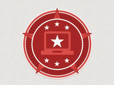 Citizen Developer Logo logo design first run retro