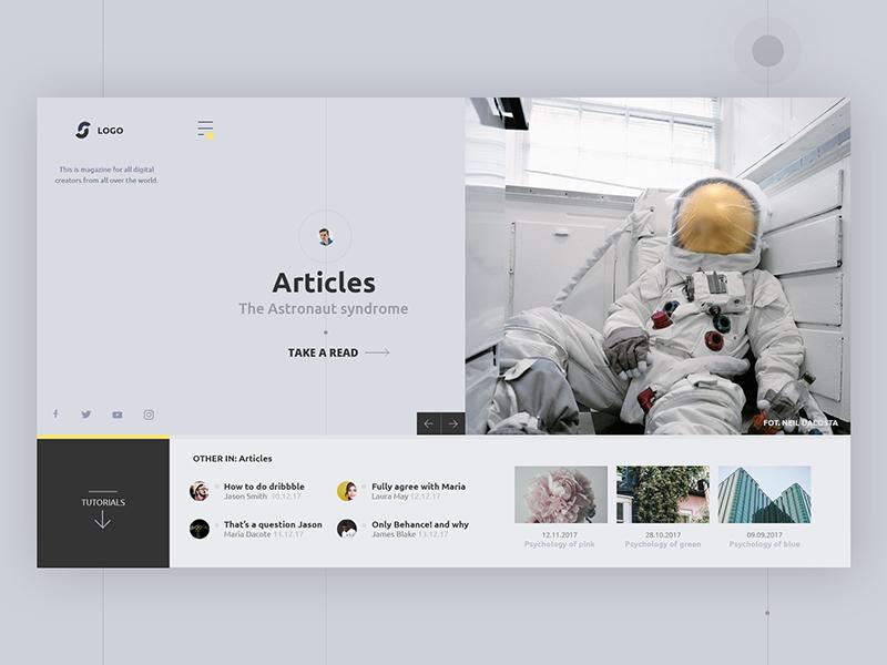 UI Inspiration: This week's selections from Aakash Sarvaiya, Maciej Dyjak, Andrew Chraniotis and more