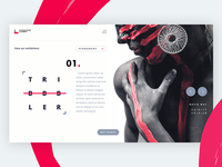 Museum of Dribbble Landing Page