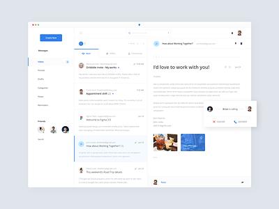 📮 Inbox client app desktop app ux ui mail inbox