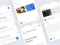 Inbox mobile app