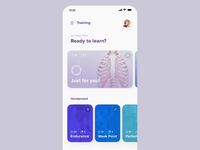 Anatomic - Exercises Interaction ux ui mobile learning health reality augmented ar app android ios anatomy