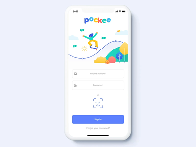 Pockee – Assigning tasks in the payment app