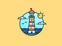 Sunny Lighthouse