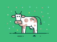 A Happy Cow :)