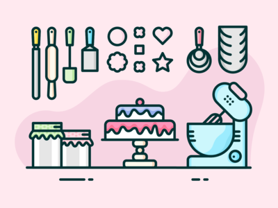 Cake Maker's Workspace