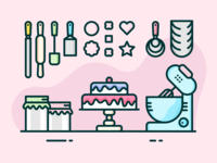 Cake Maker's Workspace