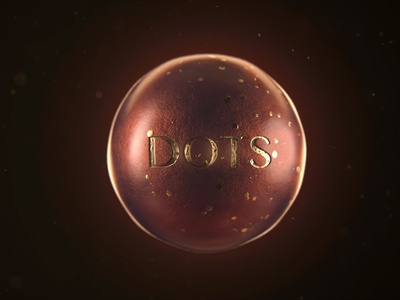 DOTS particles artistic chocolate candy