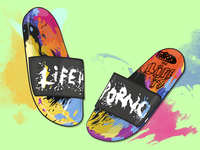 Slides Life is porno XXX Footshop