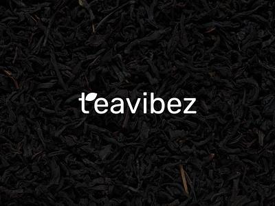 Teavibez Logo Design green softdrink drink indentity branding logo tea