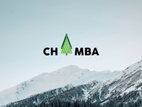 Logo design for District Chamba, Himachal Pradesh, India air greenery christmas mountain green color branding identity logo