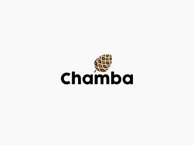 Logo design for District Chamba, Himachal Pradesh, India green vector branding design branding identity design illustrator icon logo identity