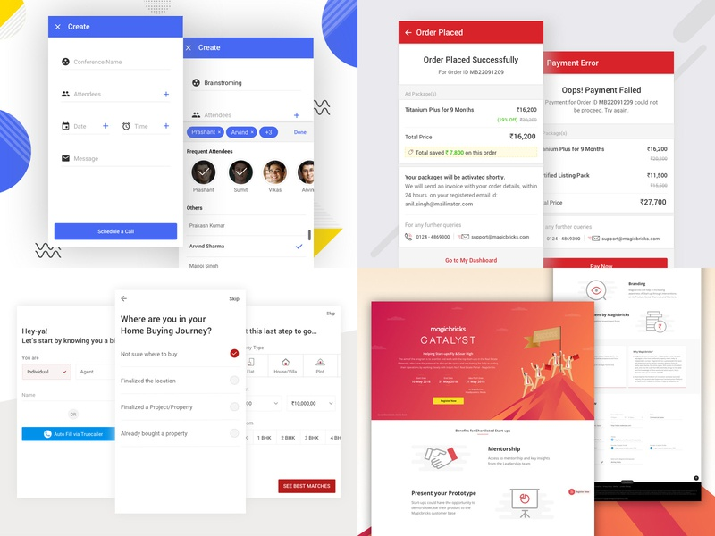 2018 booking after payment app onboarding agents real estate