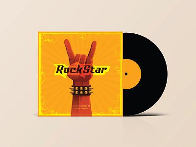 Rockstar Music Album graphic design