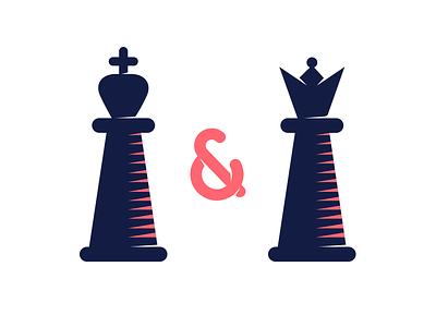 King & Queen uuuu download icon set icons illustration freebie free