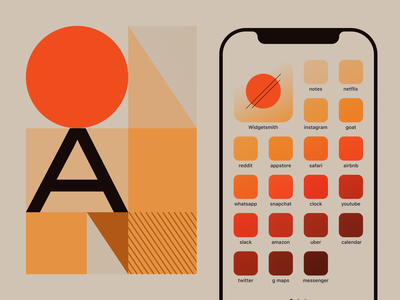 Autumn — iOS 14 icons resources gradient illustration icon