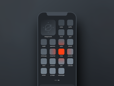 The insanest iOS14 homescreen I've done so far illustraion icons ios14homescreen ios14