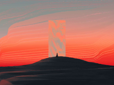 C̯͇̋ͮh̜͇̉a̱͚ͭͦͣͯ̓o̟̖̪̤͍̩͇͛̐s̥̰̗̘͇͔͚͇̙͆̒̅̽̚ monolith cryptoart nft illustration