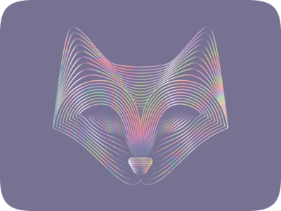 Iridescent Fox fox illustration