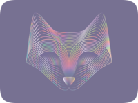 Iridescent Fox