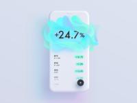 Neon Crypto Portfolio