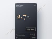 A wallet for digital gold