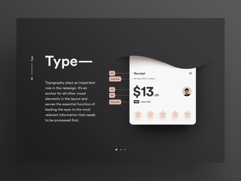 Grab Redesign '16 / Type ux typography ui