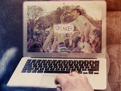 Speaker one-page wordpress