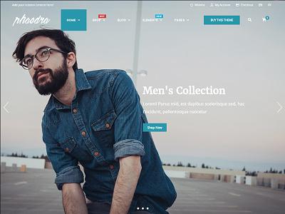 Phaedra - E-Commerce WordPress Theme woocommerce shop wordpress web ecommerce development design