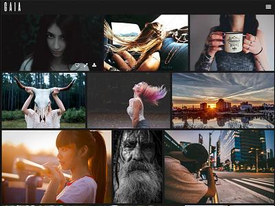 Gaia - Photography & Stock Images WordPress Theme photography theme wordpress