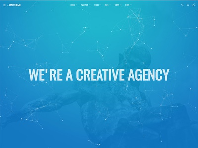 Protheme - Powerful & Flexible Mega WordPress Theme creative theme wordpress