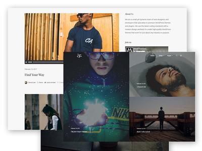 Iyo - Minimalist WordPress Theme for Bloggers