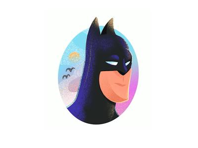 The Bat 🦇😉 corona icon character drawing batman digital illustration procreate flat logo design digital painting illustrator illustration