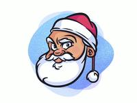 Christmas vibes 🎅🏻 christmas procreate ipad pro digitalart process santa holiday icon logo design drawing illustrator character illustration