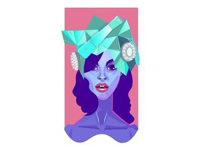 Hello, hello, baby girl freelanceillustrator flat design flatart ui ux web character design drawing graphic design vector illustration art illustration digital drawing