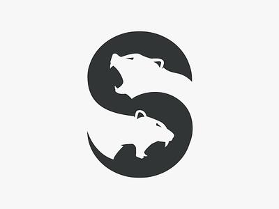 Safari Beasts roar savage tiger bear safari beasts beast animal logo