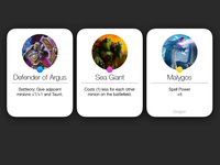 Hearthstone iOS 7 Cards
