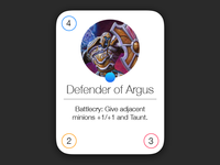 Hearthstone iOS 7 Cards (Draft 2)