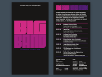 Big Band Chamber Concerts Flyer